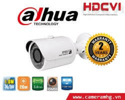 CAMERA DOME HDCVI DAHUA HAC-HDW1000MP – S3